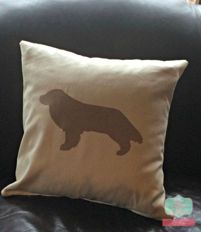 silouette pillows