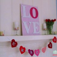 DIY Valentines Day Home Decor