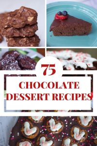75 Chocolate Dessert Recipes