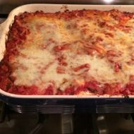 Lighten Up Lasagna to feed a crowd
