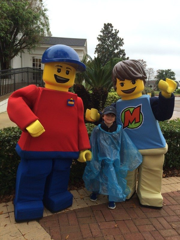 How to Survive Legoland Florida in the Rain
