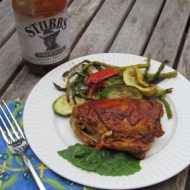 Easy Oven Baked BBQ Chicken with Jarred BBQ Sauce