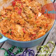 Mardi Gras Food Recipe- Shrimp and Sausage Jambalaya Barefoot Contessa