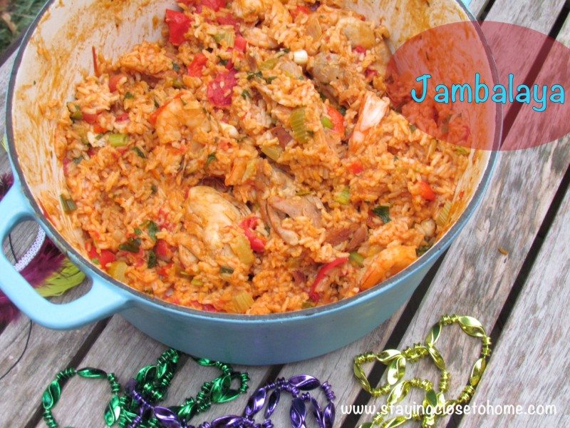 mardi gras food recipe