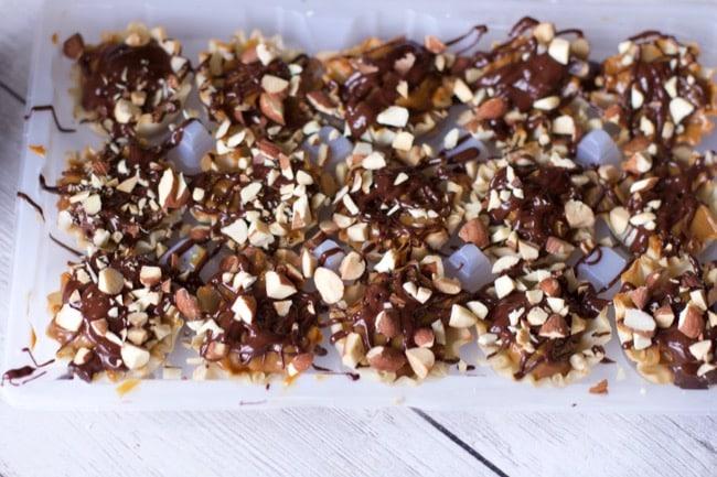 Last Minute Desserts: Dulce De Leche Caramel Chocolate Cups 2