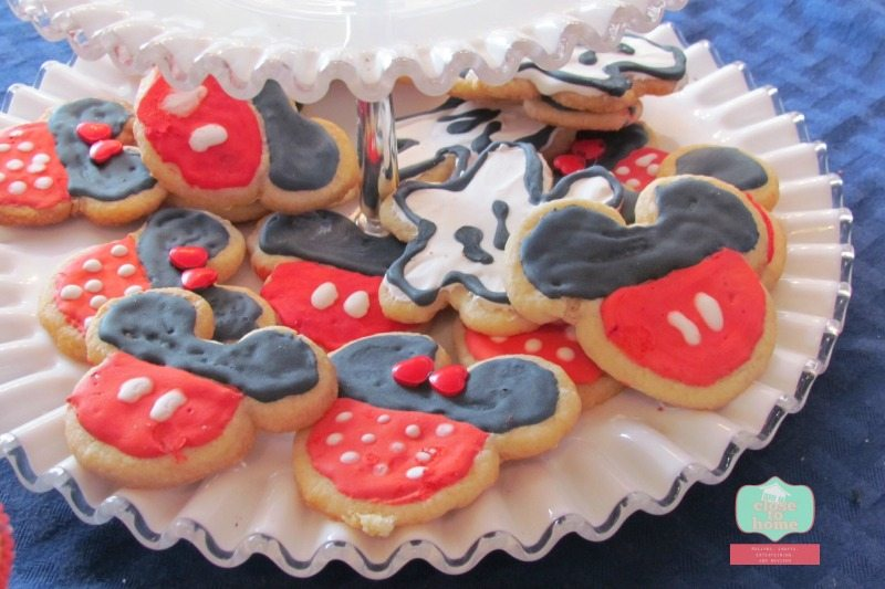 Mickey Sugar cookies