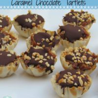 Caramel Chocolate Tartlet