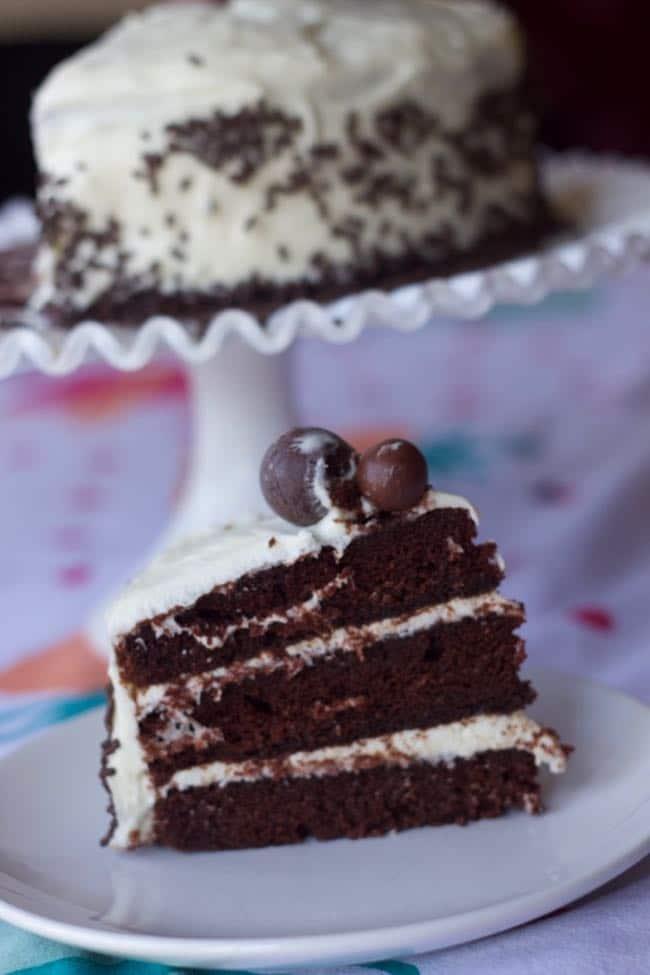 AUnt Beatty's chocolate cake