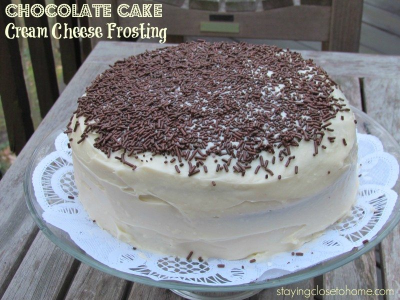 Yummy Layered Cake Recipes: Delicious Chocolate Cake Recipe With Cream Cheese Frosting