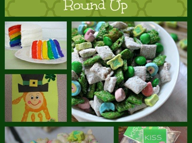 Fun Activities for Kids for St. Patrick's Day Round Up