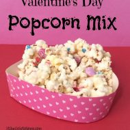 Valentine's Day Treat– White Chocolate Popcorn