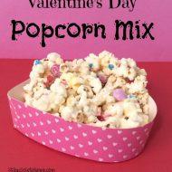 Valentine's Day Treat– White Chocolate Popcorn
