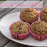 Peanut Butter Banana Muffins Recipe @SecretRecipeClu
