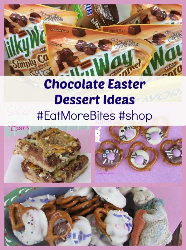 Three Irresistible Pretzel & Chocolate Easter Dessert Ideas
