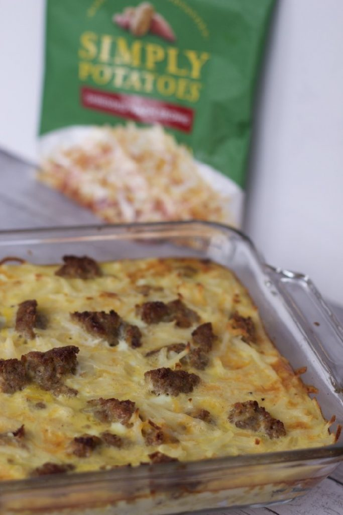 Easy Hash Brown Egg Casserole