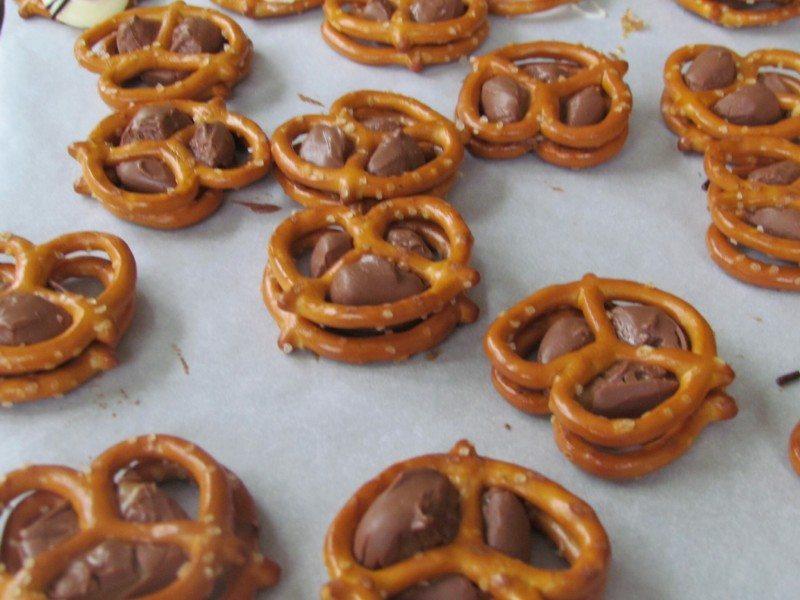 Easter dessert ideas pretzel dessert