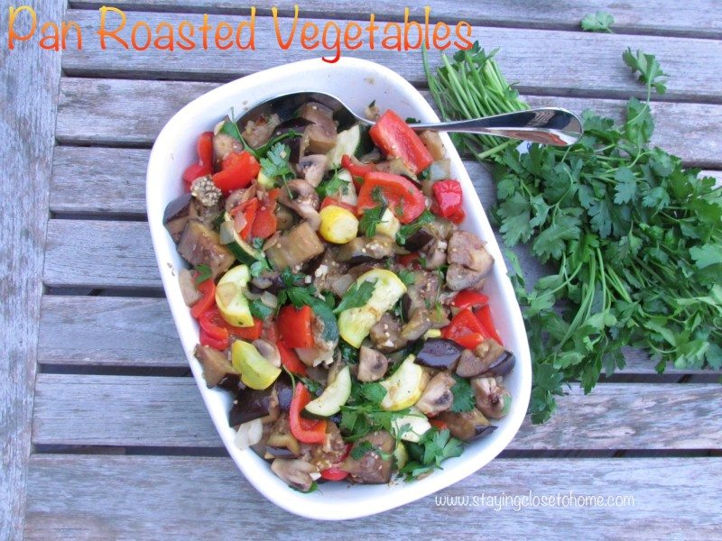 How to Make Pan Roasted Vegetables Side Dishes