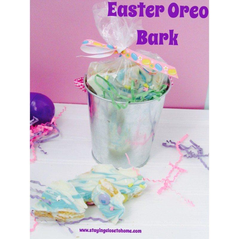 Addictive and Fun Easter Oreo Bark Recipe