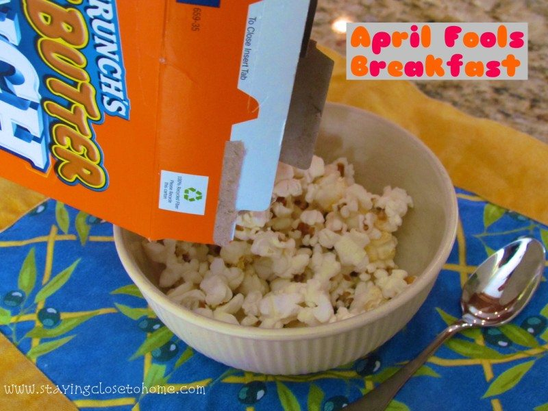 Super Tricky April Fools Day Jokes with Popcorn