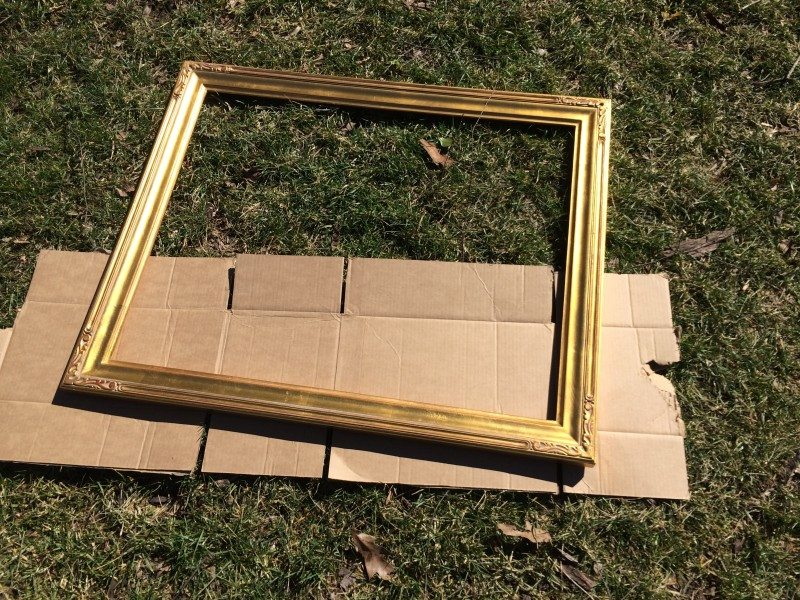 repurpose a frame Repurpose Picture Frames into Cork Boards Tutorial