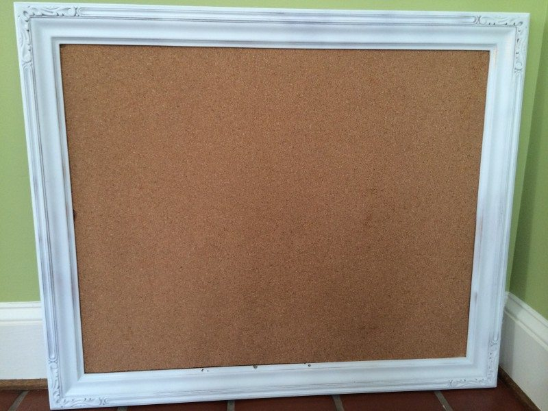 Repurpose Picture Frames Into Cork Boards Tutorial Close To Home