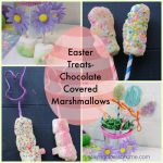 Chocolate Covered Marshmallow Easter Treats