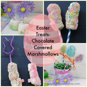 chocolate covered easter treats