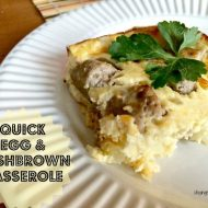 Easy Hash Brown Egg Casserole Recipe