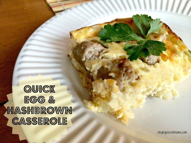 Easy Hash Brown Egg Casserole Recipe