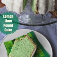 Lemon Lime Pound Cake Recipe