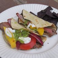 Avocado Lovers: Grilled Skirt Steak Tacos with Spicy Guacamole