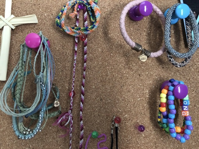 push pins for necklaces and bracelets