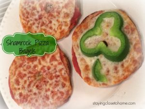 shamrock Pizza bagels
