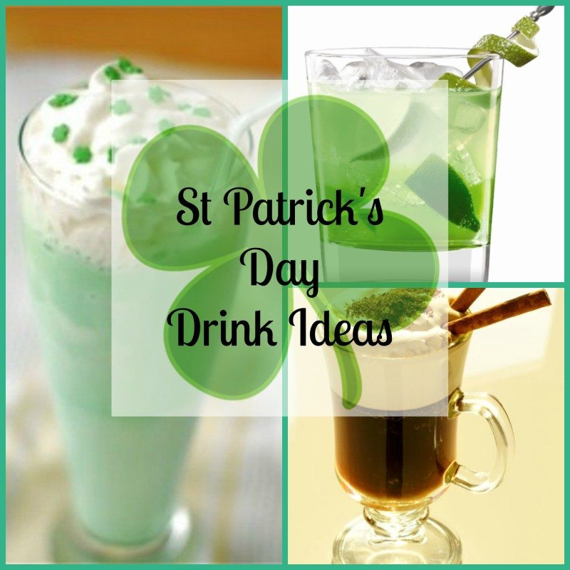 St Patrick Day Drinks surely to show your Irish Side