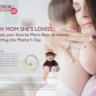 Show Mom She's Loved and win a Helzberg #BearHug