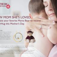Show Mom She's Loved and win a Helzberg #BearHug