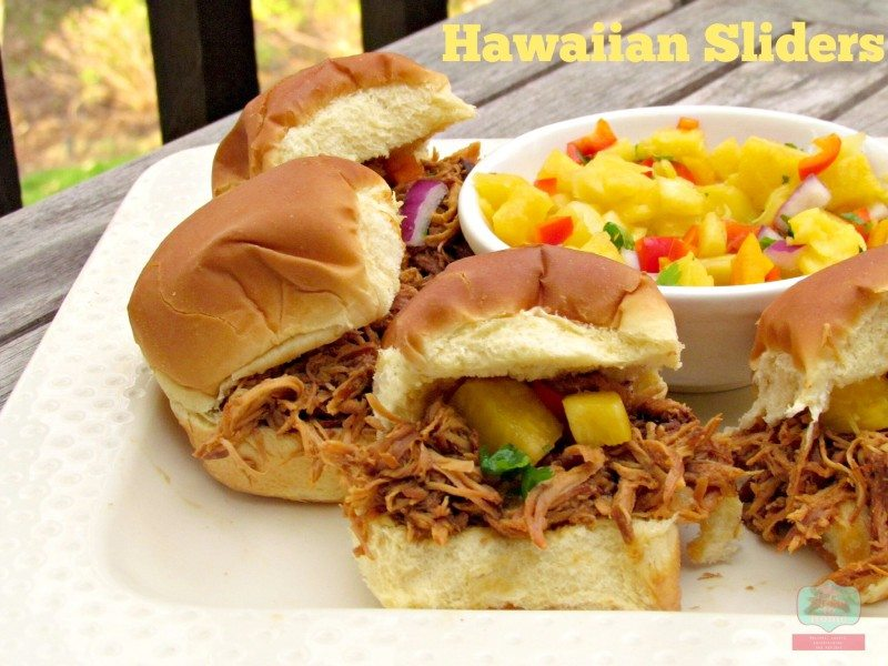 Slow Cooker Dinners: Crock Pot Hawaiian Sliders