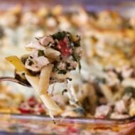Chicken & Spinach Pasta Bake Recipe: Make Ahead Dinners