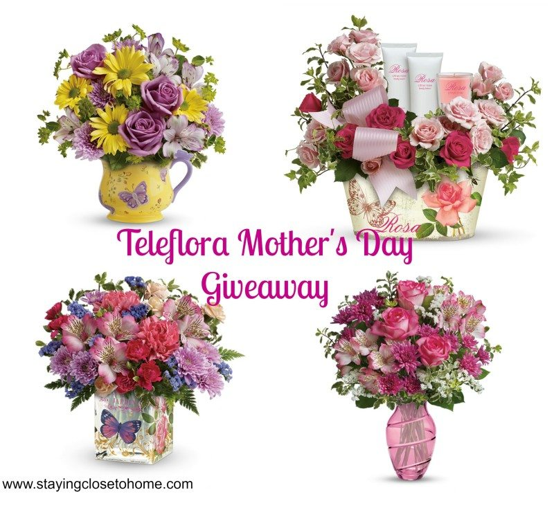 Mothers Day Flowers from Teleflora #Giveaway
