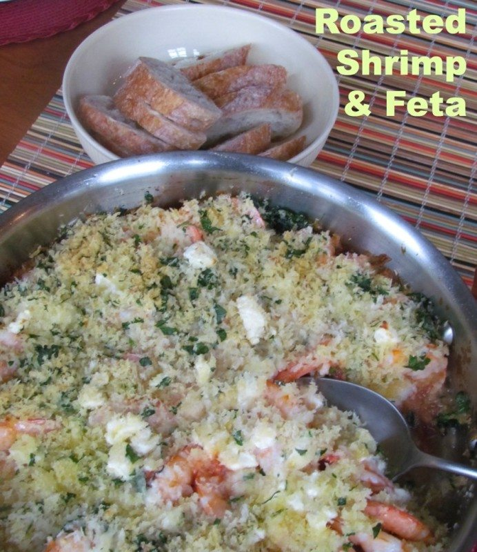 Barefoot Contessa's Roasted Shrimp and Feta Recipe