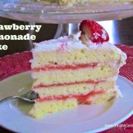 Strawberry Lemonade Cake Recipe for my birthday