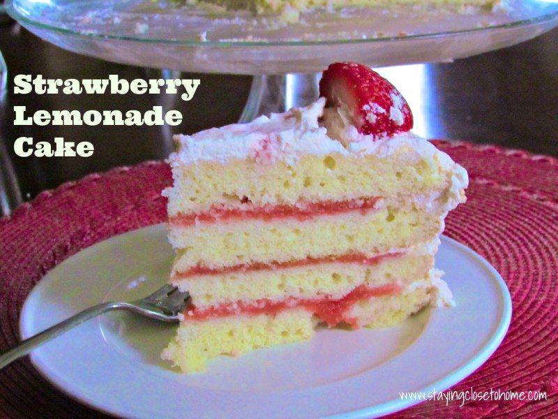strawberry lemonade cake recipe for my birthday close to