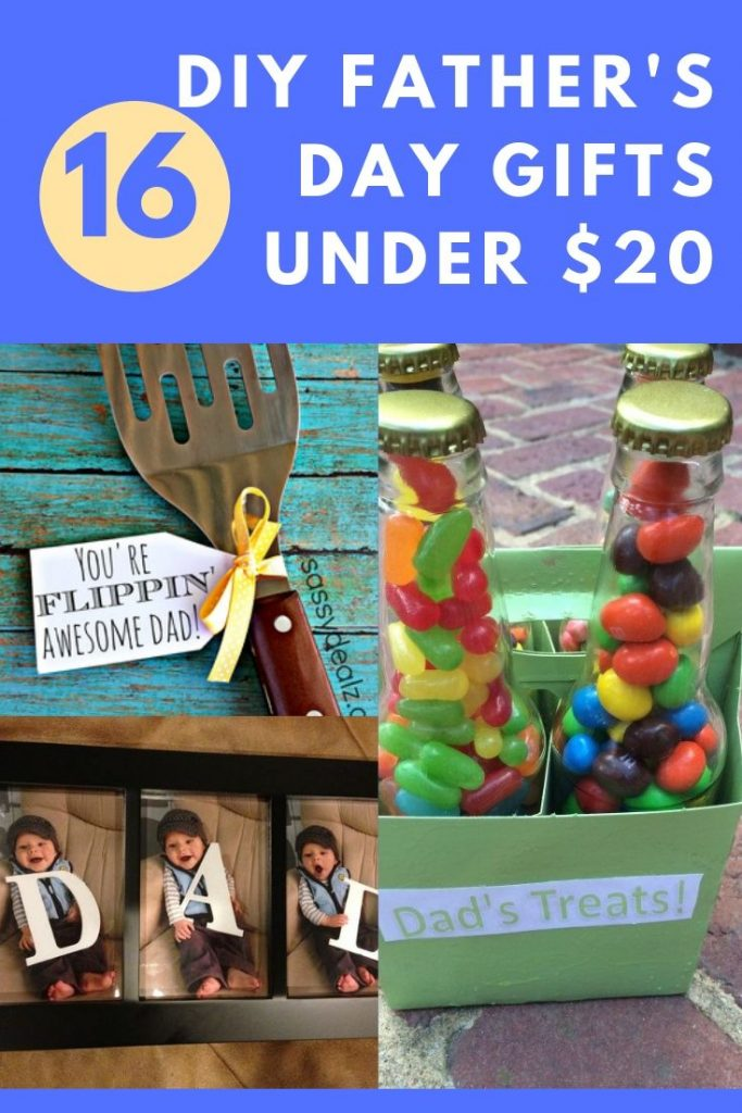 16 DIY Father's Day Gifts Under $20 (Kids Can Help Too)