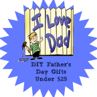 DIY Fathers Day Gifts under $20