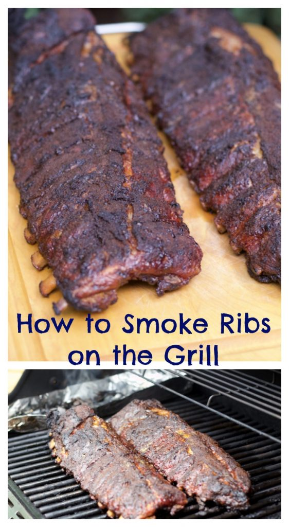 How to smoke ribs on the grill pin