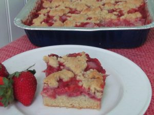 Strawberry Crumb Bar Recipe