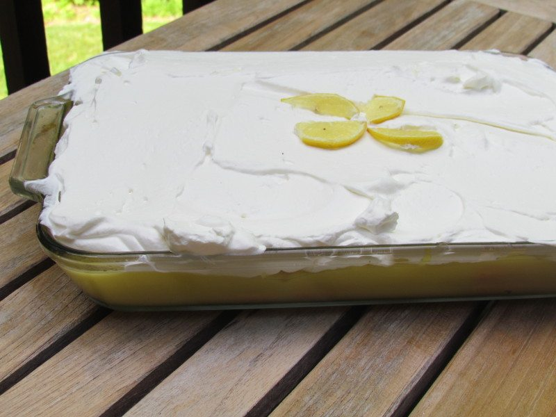 Make this traditional italian Lemon Cake recipe