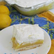 No Bake Grandma's Italian Lemon Cake Recipe