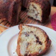 Super Easy Chocolate Streusel Coffee Cake Recipe