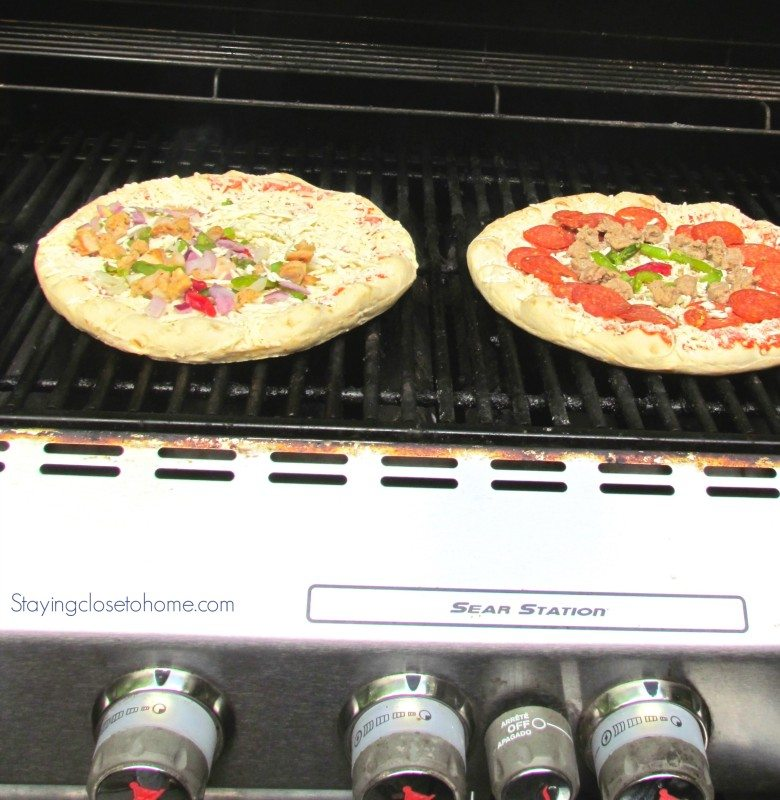 How to Grill a Frozen Pizza for A Quick Dinner